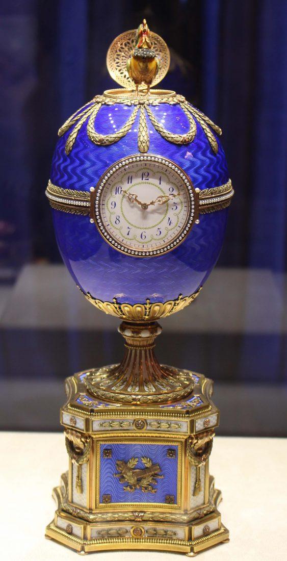 SaintPetersbourg Les ufs Faberg joyaux du palais Shuvalov  FYKmag