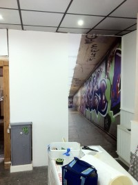 Wall Art large format print  Fylde Signs & Graphics