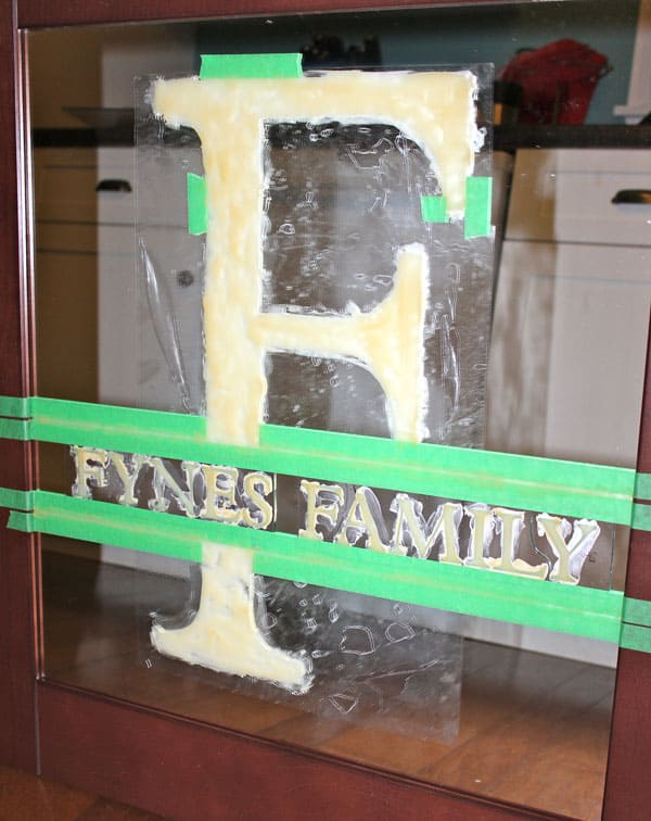"Easy Mirror Etching with Martha Stewart Crafts, a tutorial featured by top US craft blog, Fynes Designs"" how to etch glass or mirror- important tips to get professional results"