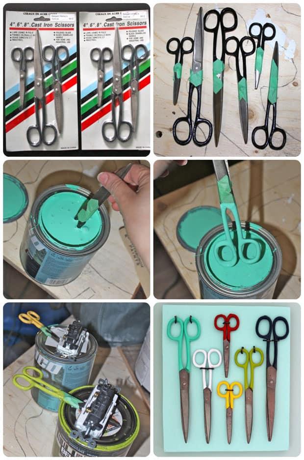 scissor-collage