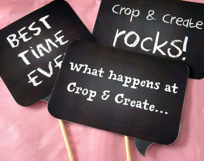 Scrapbook and Cards Today Presents Crop and Create Moncton