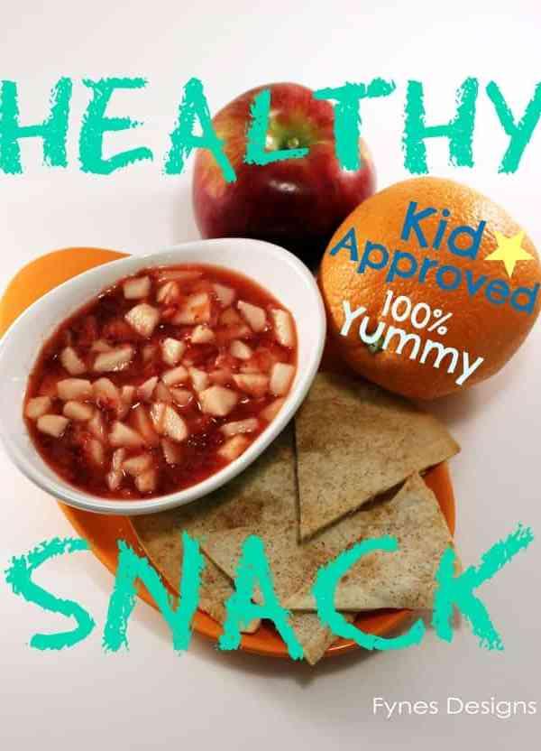 Fruit Salsa Kid Snack