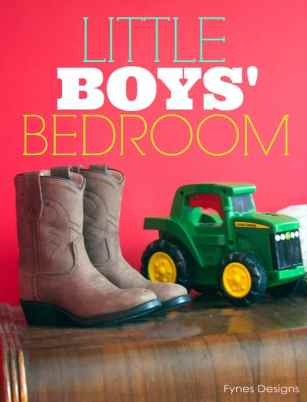 Sweet little boys' bedroom ideas