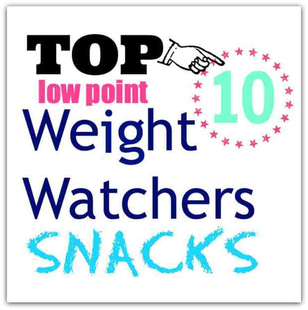 Top 10 Low Point Yummy Weight Watchers Snacks featured by top US life and style blog, Fynes Designs