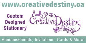 A Creative Destiny- Custom Designed Stationary
