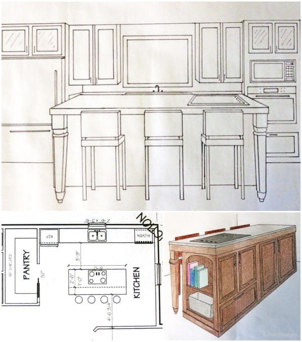 Kitchen Design Drawing: My Kitchen- The Hub Of Our Home - FYNES DESIGNS