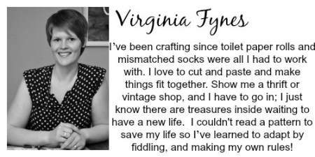 Virginia-fynes-bio | Craft Gifts by popular Canada lifestyle blog, Fynes Designs: image of Virginia Fynes.