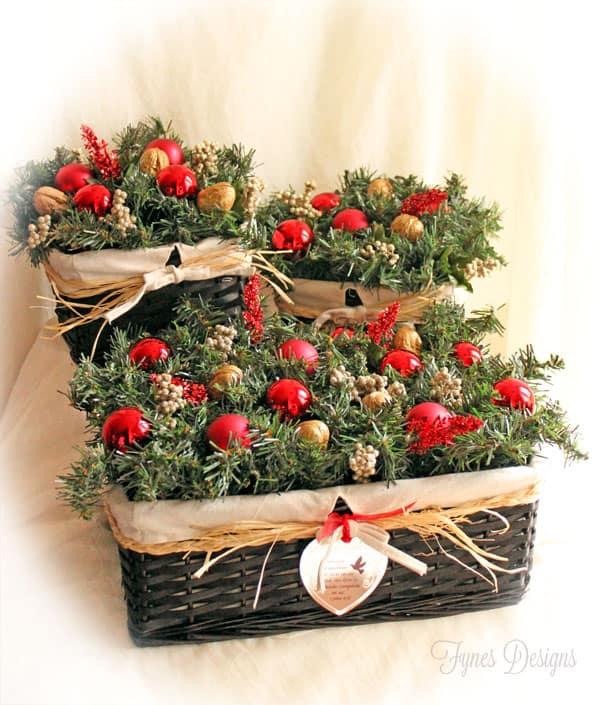 Giving Back at Christmas With an Easy Holiday Centerpiece