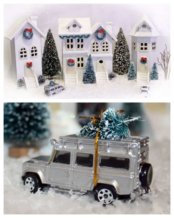 diy michaels birdhouse christmas village - Michaels Christmas Village