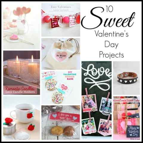 10 MUST T SEE Valentine's Day projects from top Canadian bloggers!