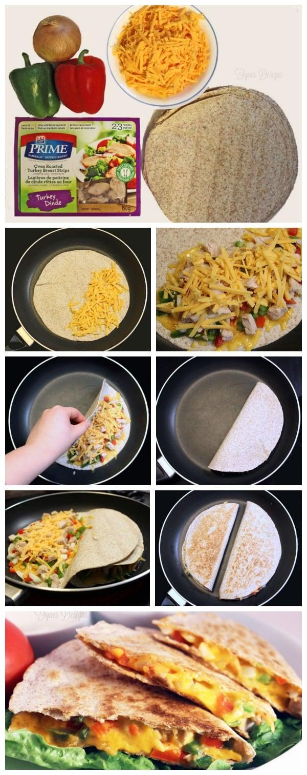 Easy Chicken Quesidillas