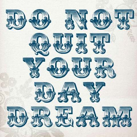 Day Dream quote