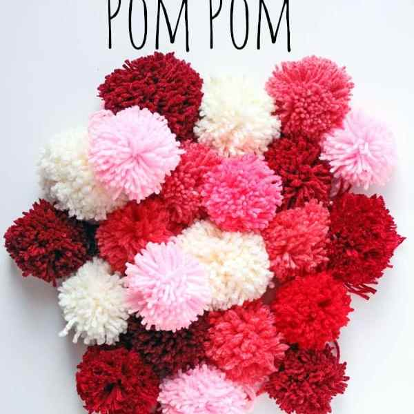 Make these pom poms quick with this simple trick from fynesdesigns.com