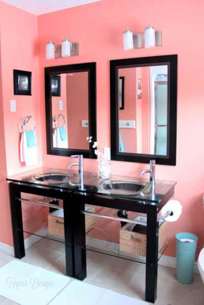 Cheap bathroom makeover #homedepot #voiceofcolor