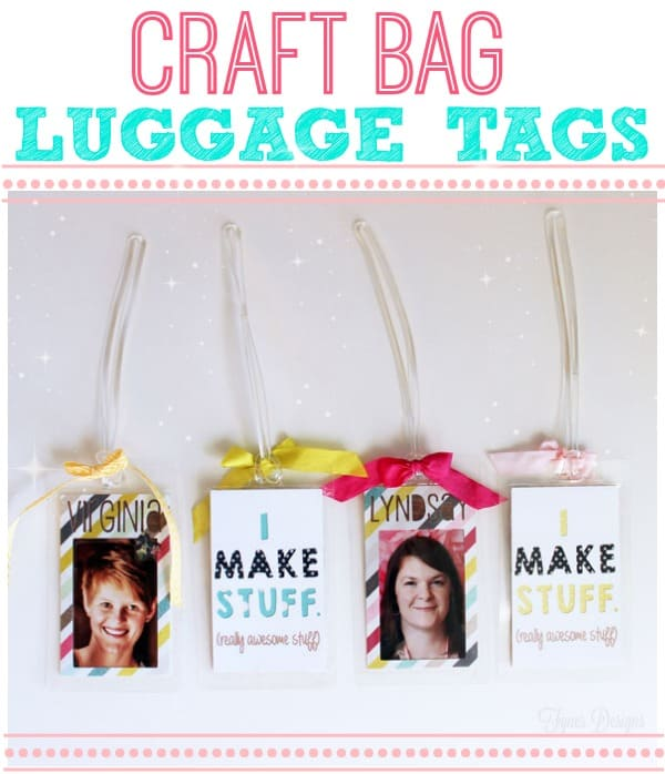 Creative DIY Luggage Tags