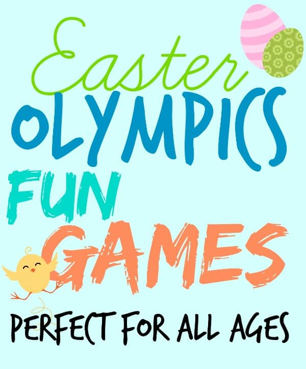 Fun and Cheap Easter Party Games: Easter Olympics