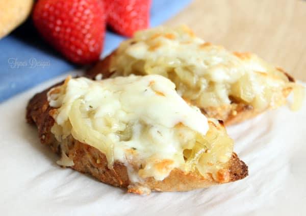 Caramelized Onion Appetizer #MemorableMelts