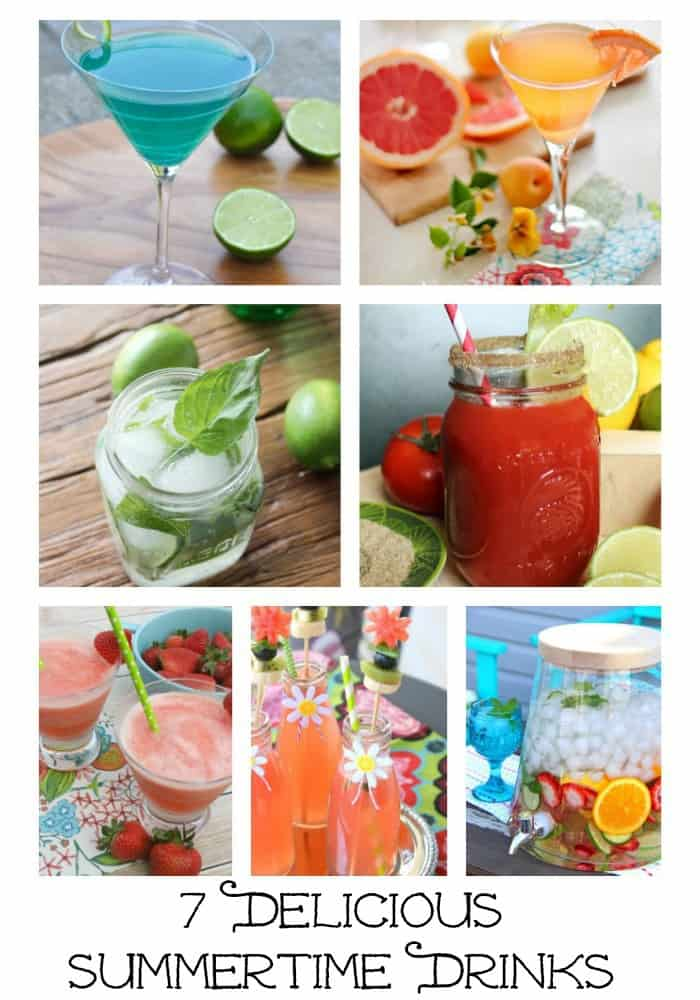 Delicious mixed drink recipes perfect for summertime!