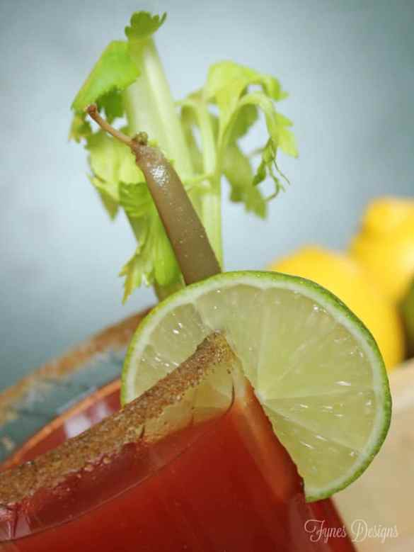 Add a dill bean to a Caesar for an interesting combination
