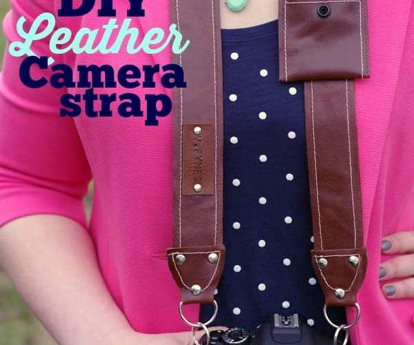 Easy to make Leather Camera Strap- FREE PATTERN