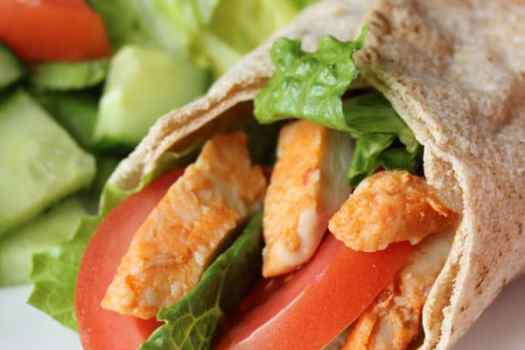 3 point Weight Watchers Chicken Pita wrap #PROTINIS