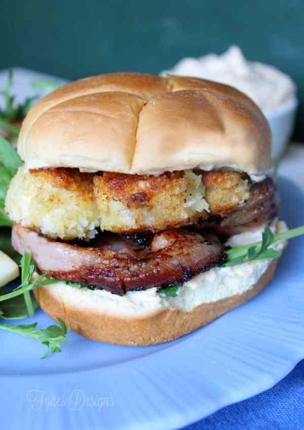 Delicious Scallop Recipe- Fog Buster Burger