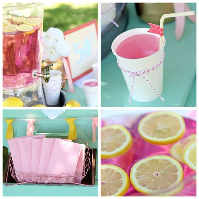 Cute and inexpensive lemonade stand ideas
