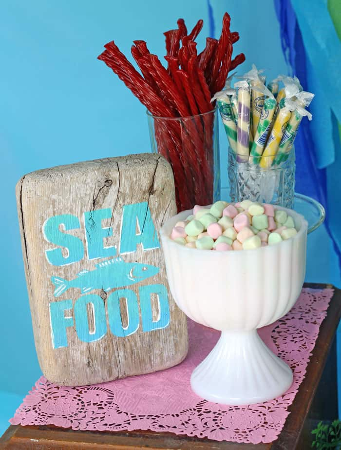 Under the sea birthday Party ideas- treats perfect for a Mermaid