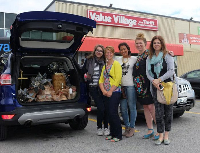 Fill up your Ford with Value Village Treasures