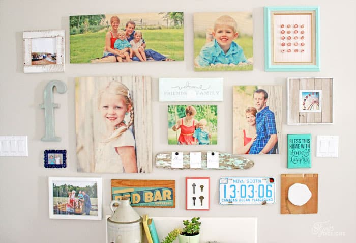 Shutterfly Design a Wall review featured by top US home decor blog, Fynes Design |Hanging a gallery wall made easy