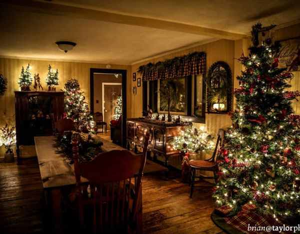 Rustic Christmas Home Tour - OVER 30 trees, you won't believe your eyes!!