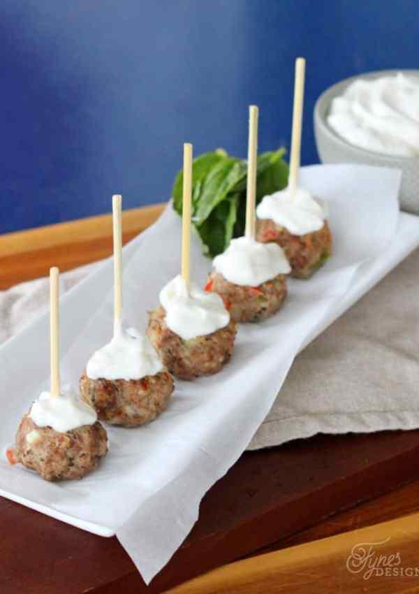 Greek Meatball Recipe Appetizer Idea