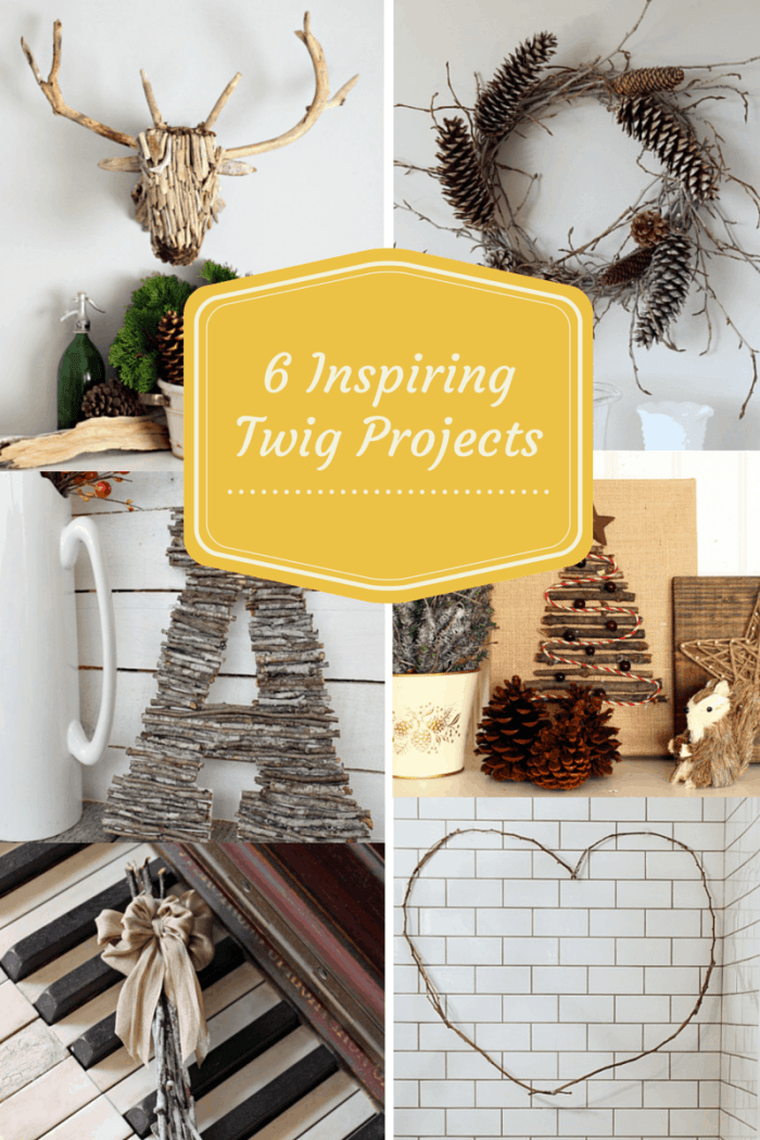 Inspiring Christmas twig ideas