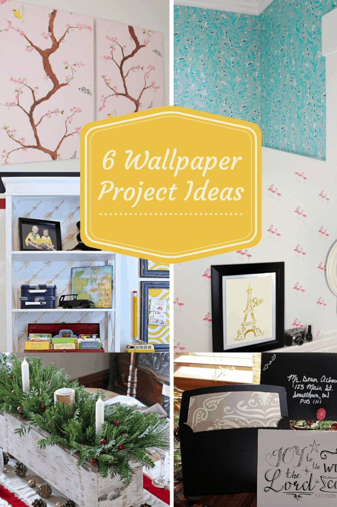 6 different ways to use wallpaper