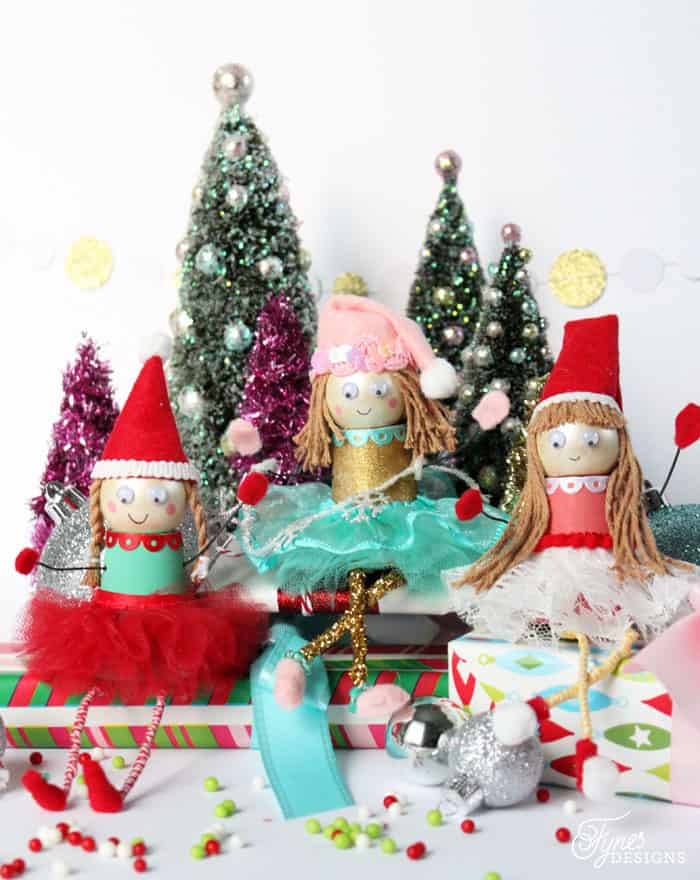 Christmas crafts for kids- elf craft
