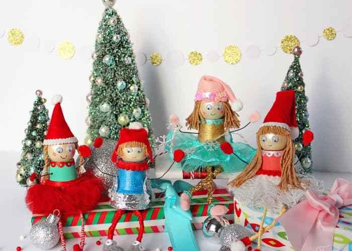Little Christmas Elf craft for kids