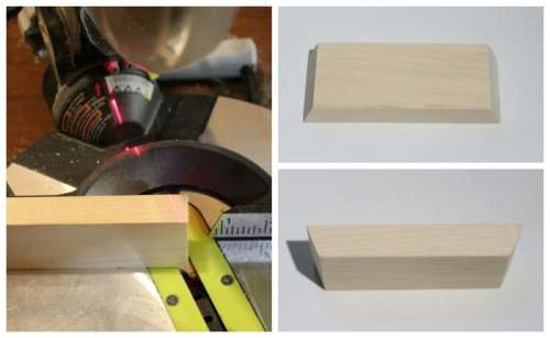 cute edges with Mitre saw