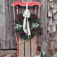 $10 DIY Wooden Sled Tutorial