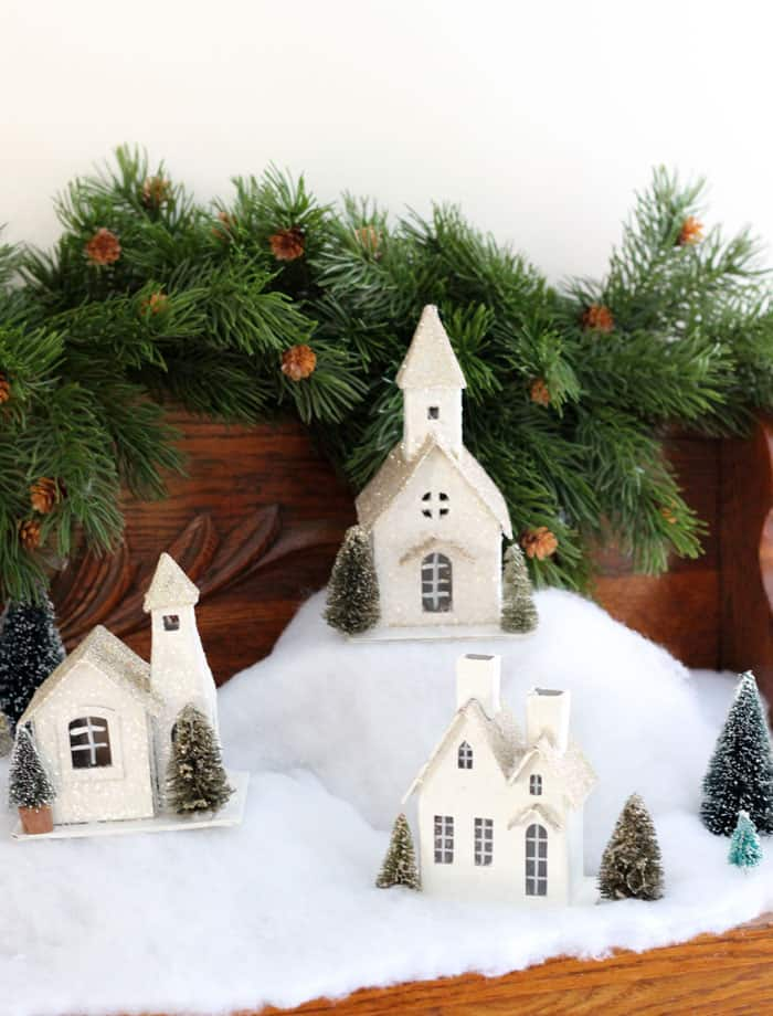 Christmas village- Fynes Designs Christmas Home Tour