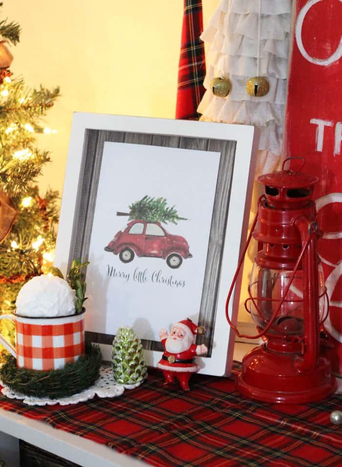 Craftberry Bush Christmas printable- Fynes Designs Christmas Home Tour