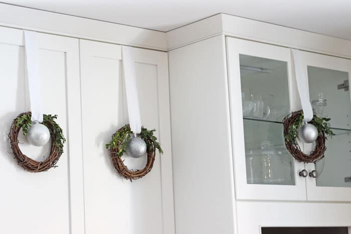 cupboard wreaths