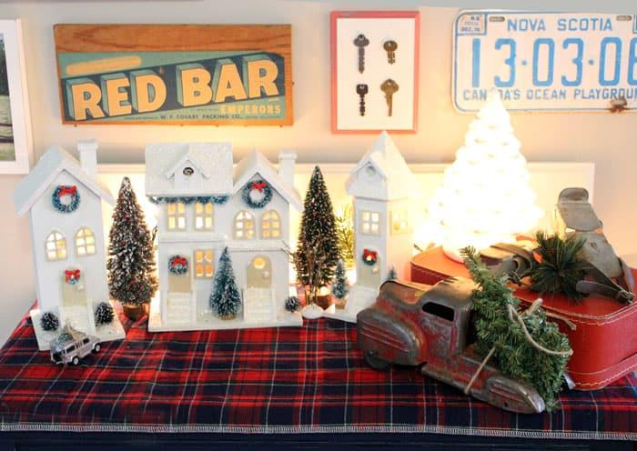birdhouse Christmas village