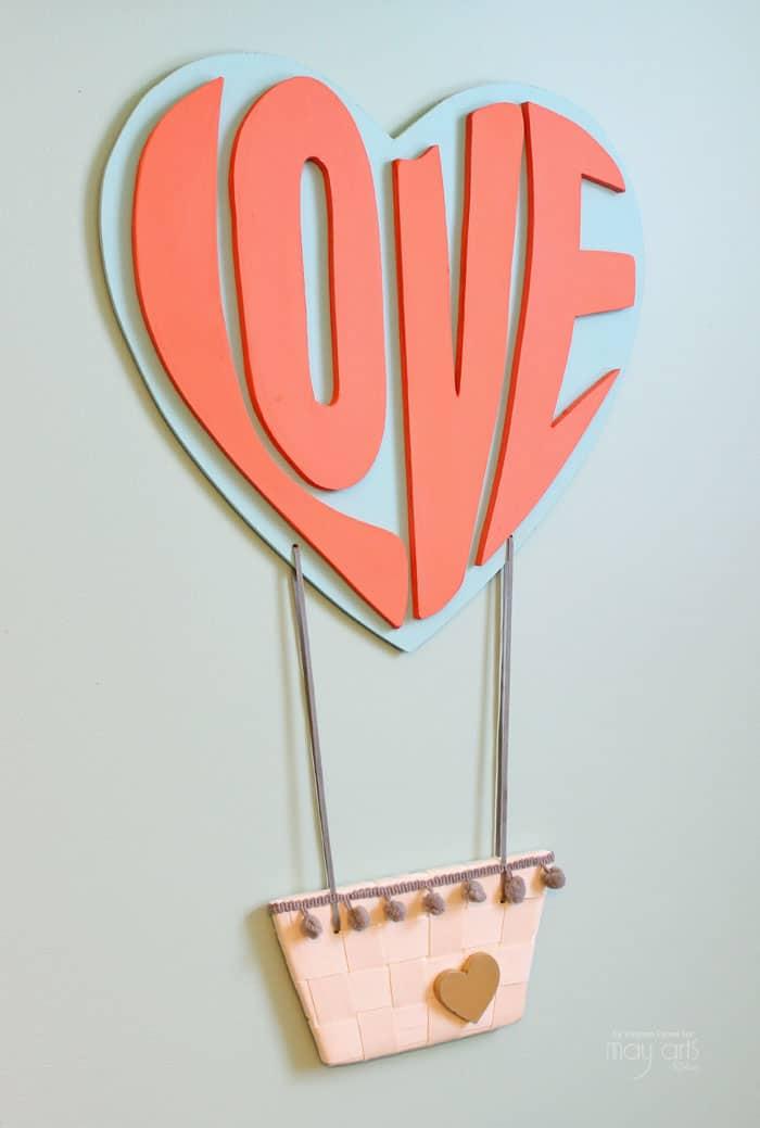 Sweet Love Hot Air Balloon