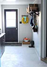 Farmhouse Mudroom Makeover- Just with Paint - FYNES ...