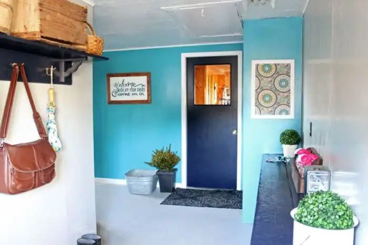 Farm house Mudroom makover- you HAVE to see the before