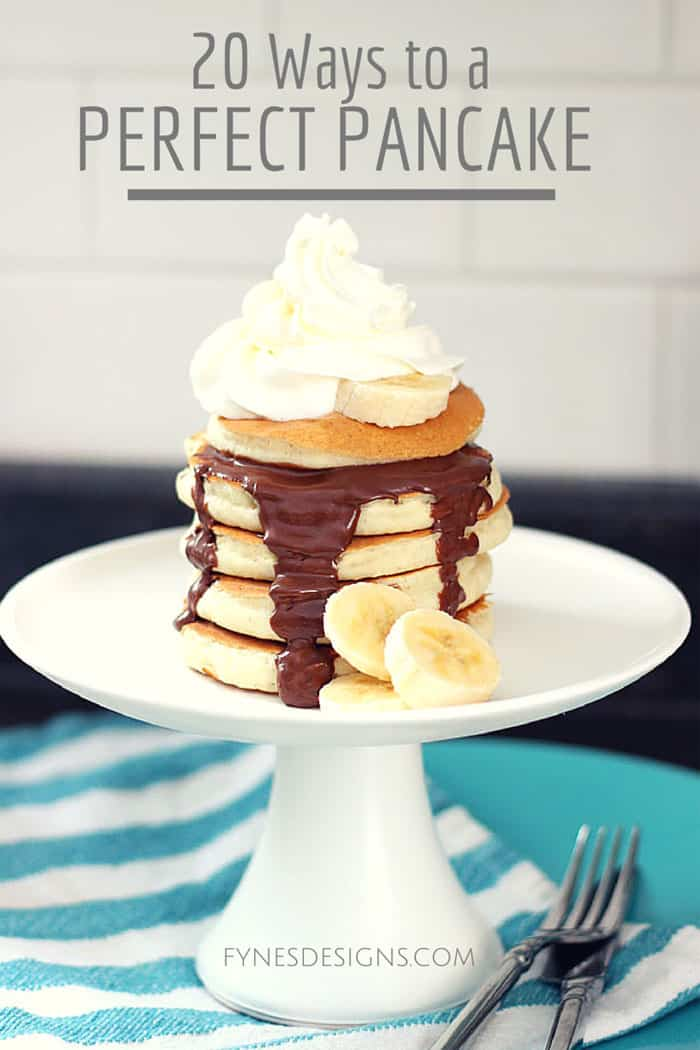 20 ways to turn store bought pancake mix into the perfect pancake