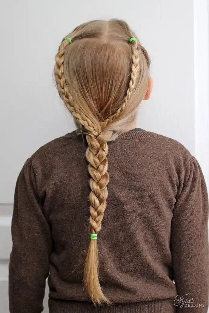 Simple and cute Hairdos for Girls- perfect 5 minute dos for school days