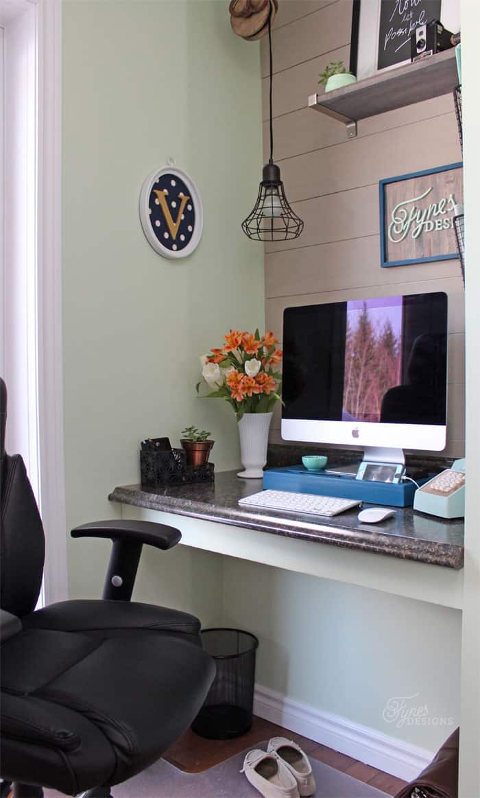 Small Home Office Makeover  FYNES DESIGNS  FYNES DESIGNS