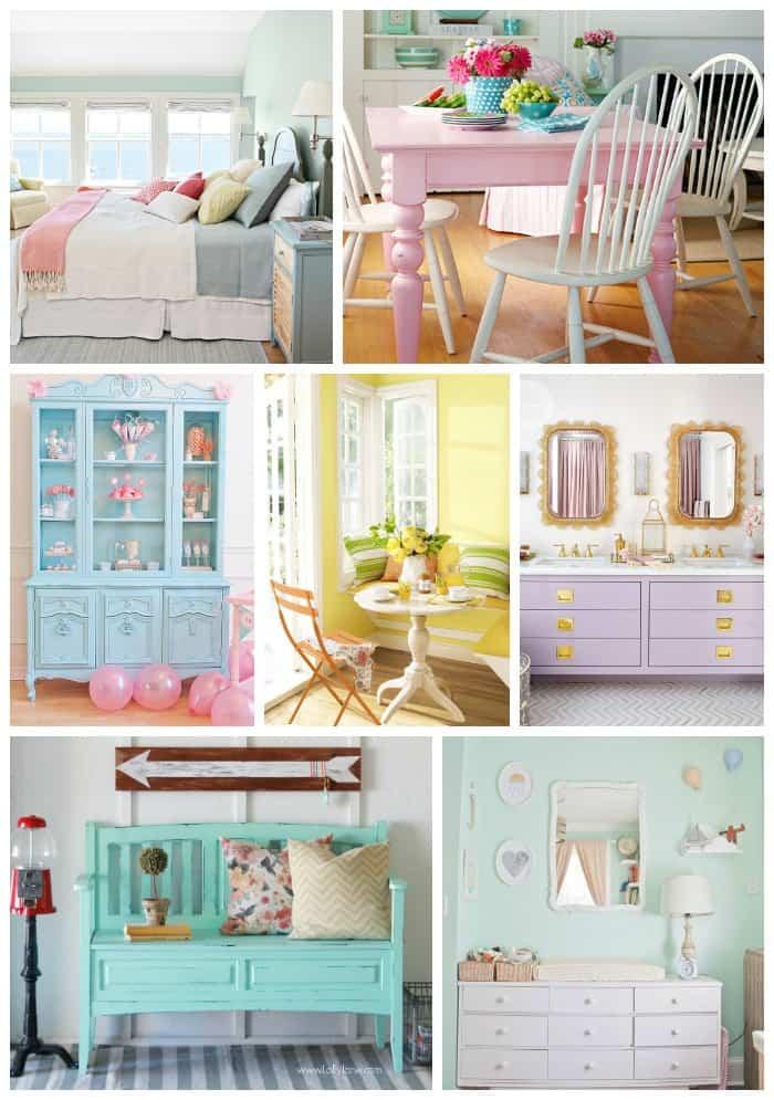 Pastel paint inspiration