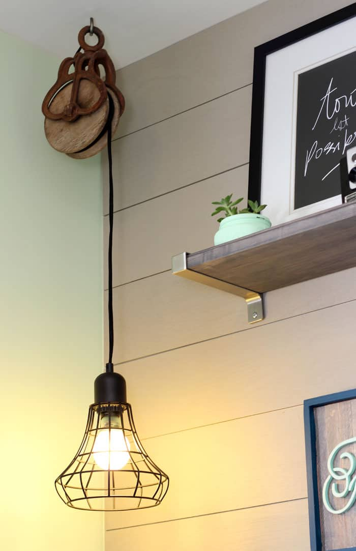 Target pendant light hard wired